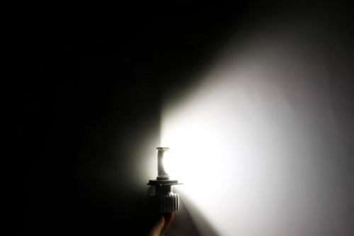 Светодиодная лампа на мотоцикл Carex 3S-H4 3600 Лм