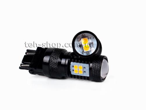 Светодиодная Led лампа Carex 3156/P27W для поворота