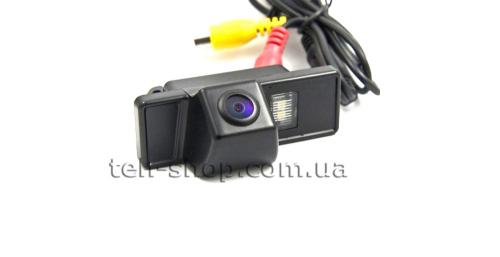 Камера заднего вида Ниссан Кашкай (Nissan Qashkai) Carex сенсором CCD SONY