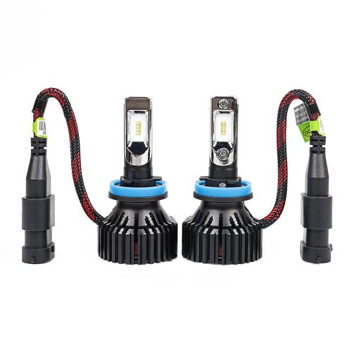 Светодиодная автомобильная Led лампа головного света Carex T8/H11