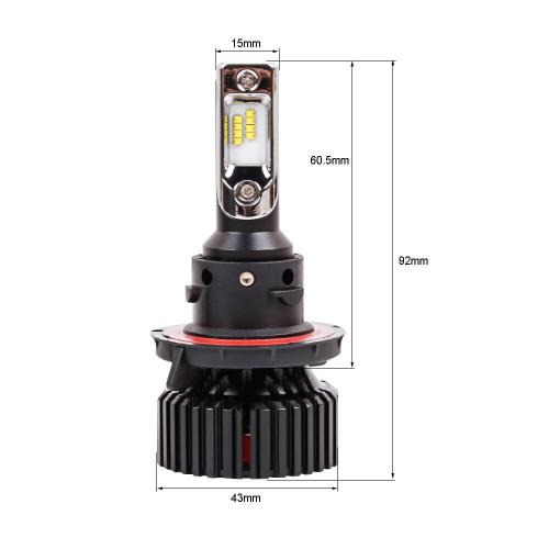 Светодиодная автомобильная Led лампа головного света Carex T8/H13