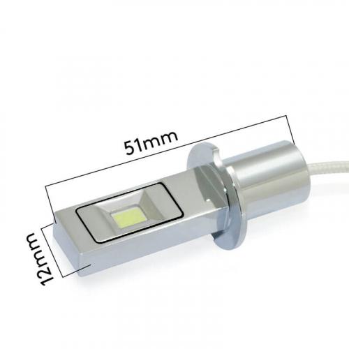 Светодиодные лампы H3 в противотуманки Carex g12/h3