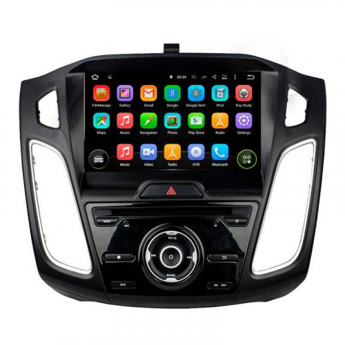 Штатная магнитола Carex CA-9805 Ford Focus 3 2012 - 2018 4/32Gb Android 9.0