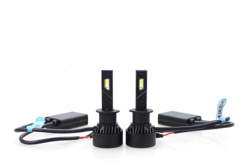 Светодиодная автомобильная Led лампа головного света Carex F3/H1 Super Brightness 10 000 Lm