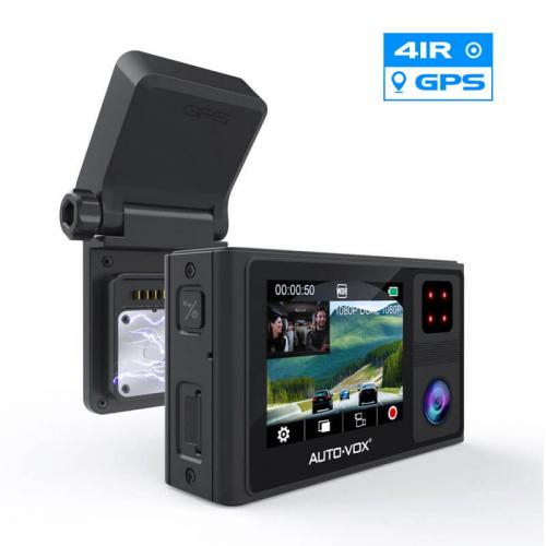 Автомобильный видеорегистратор 2 камеры Auto-Vox DVR-AD1 Dual Cams