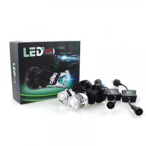 Cветодиодные Mini Led линзы Carex V3/H4 Ultra Vision 72W 10000 Lm