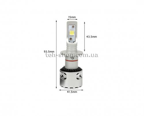 Светодиодные лампы головного света D2S Carex 9C-D2