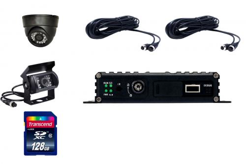 комплект видеонаблюдения для транспорта