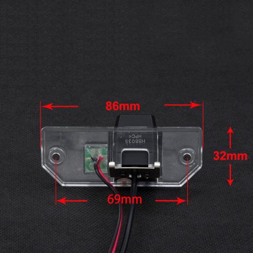 Камера заднего вида Форд Фокус 2 хэтчбек Carex RV-056 с сенсором CCD Sony