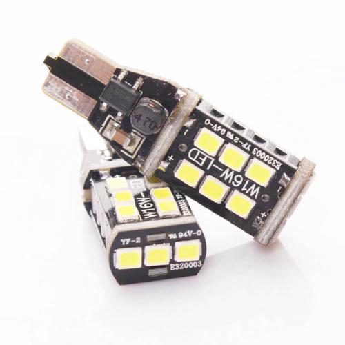 Светодиодная лампа в фонарь заднего хода Carex 3G T15/W16W
