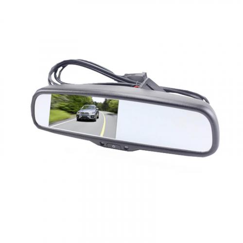 """Зеркало заднего вида с монитором 4.3"""" и автозатемнением Carex DM-043-D"""