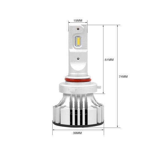 Светодиодная автомобильная Led лампа головного света Carex F2-9005