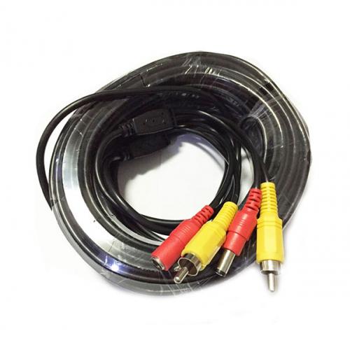 Видео кабель RCA + Power 10 метров