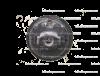Кронштейн №3 для зеркала с монитором