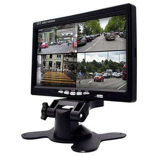 Монитор на 4 камеры 7 дюймов Carex RFM 074