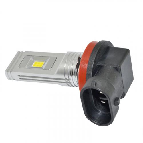 Светодиодные лампы H11 в ПТФ Carex G12/H11 Ultra Bright (White)