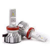 Светодиодная автомобильная Led лампа головного света Carex F2/H11 72W 12 000 Lm