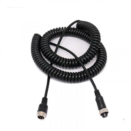 Спиральный кабель 4 pin для грузового автомобиля 6 метров
